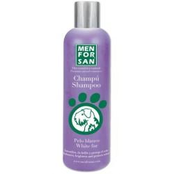 Champú pelo blanco perros Menforsan
