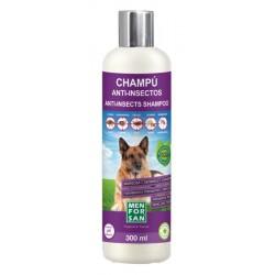 Champú anti-insectos para perros con margosa, geraniol y lavandino menforsan