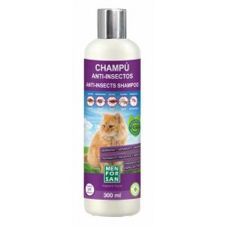 Champú anti-insectos para gatos con margosa, geraniol y lavandino menforsan