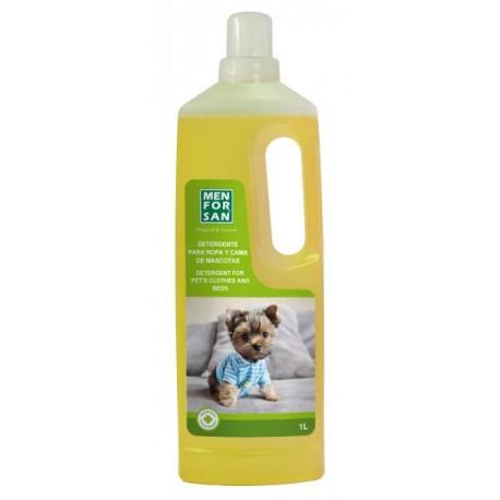 Detergente ropa y cama mascotas menforsan