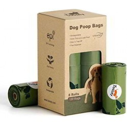 Recambio bolsas recoge excrementos biodegradables