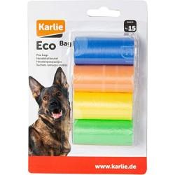 Recambio bolsas recoge excrementos biodegradables colores
