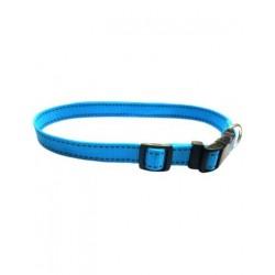 Collar Nylon Azul Neon