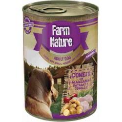 Lata Farm Nature Conejo con Manzana, Patatas y Tomillo