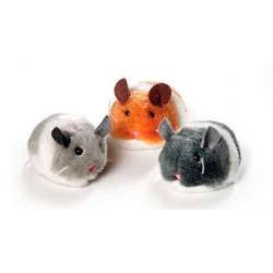 Ratón corredor a cuerda