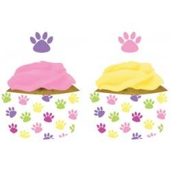 Cubre cupcakes gatos